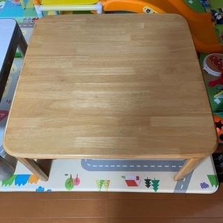 テーブル ちゃぶ台 コタツとしては使えないです
