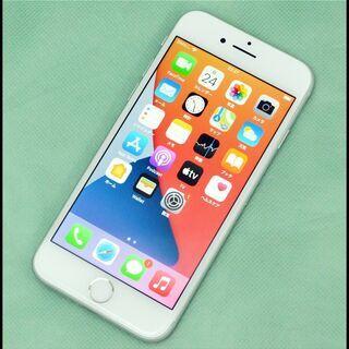 美品 SIMロック解除済 iPhone8 64GB シルバー M...