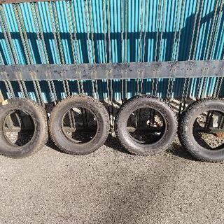 ハンコック スパイクタイヤ スタッドレスタイヤ 155