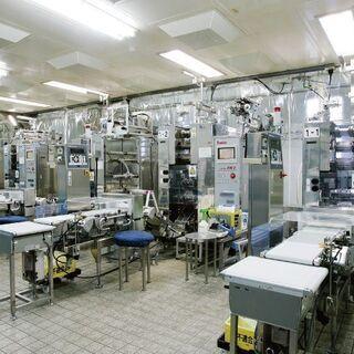 大手食品工場で正社員(管理職候補)月収~34万円