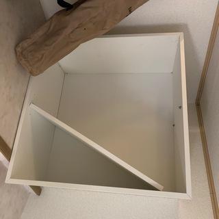 収納家具 5点セット 野外用の椅子1点