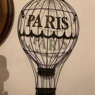アンティーク調壁掛けインテリア Paris 美品