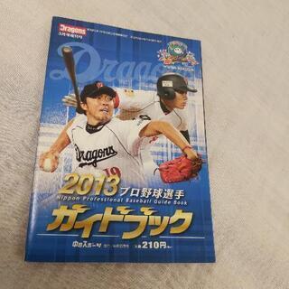 プロ野球選手ガイドブック2013