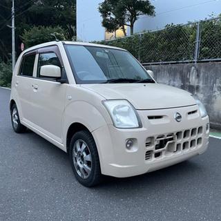 総額7.8万円 日産 ピノ S 5MT 車検4年9月まで …