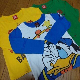 BABY DOLL長袖Tシャツ3点