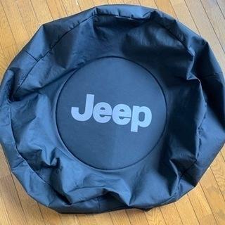 jeep wrangler 純正タイヤカバー
