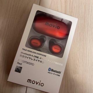 movio(red) Bluetoothイヤフォン