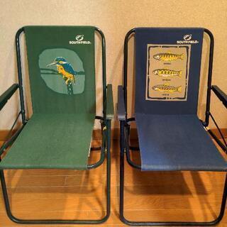 アウトドア用 折りたたみ椅子 2脚セット