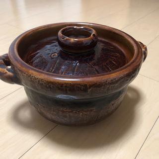 【土鍋 飴釉御竃飯3合】