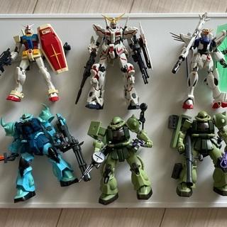 【ジャンク品】ロボット魂6体(ガンダムのおもちゃ)