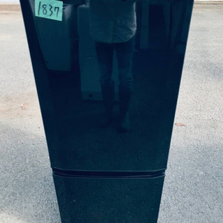 1837番 三菱✨ノンフロン冷凍冷蔵庫✨MR-P15S-B‼️
