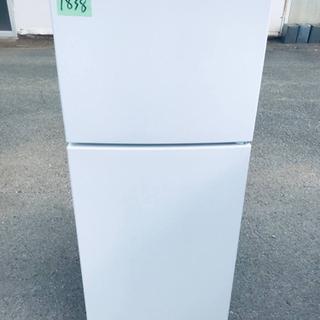 ✨2020年製✨1838番 maxzen ✨2ドア冷凍冷蔵庫✨J...