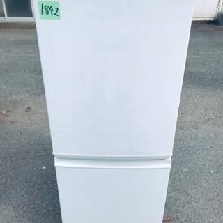 ✨2017年製✨1842番 シャープ✨ノンフロン冷凍冷蔵庫✨SJ...