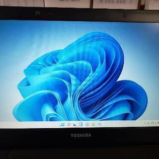 ウィンドウズ11クリーンインストール東芝ノートパソコン(美…