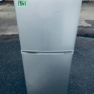 1861番AQUA✨ノンフロン冷凍冷蔵庫✨AQR-141A‼️