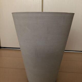 観葉植物鉢カバー ニトリ ソフトストーンプランター(白)