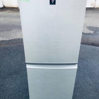 1863番 シャープ✨ノンフロン冷凍冷蔵庫✨SJ-PD14T-N‼️