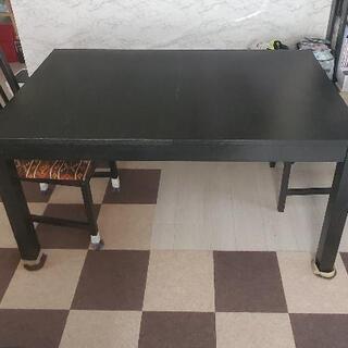 伸縮ダイニングテーブル IKEA BJURSTA ビュースタ