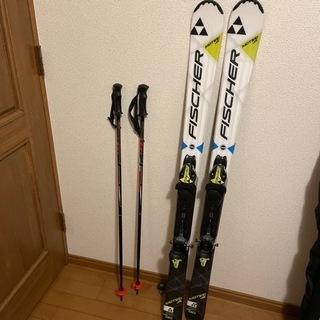 【引渡予定。受付一旦終了します⠀】FISCHER  スキー…