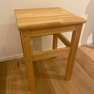 ★確定済み★スツール 木製 IKEA