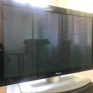 ジャンク品 Pioneer 43型プラズマテレビ