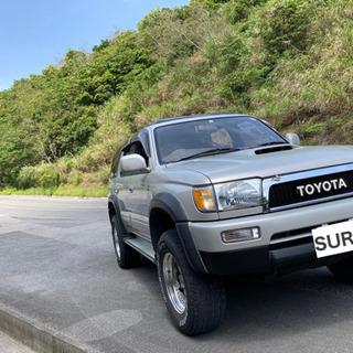 【ネット決済】価格高騰中のディーゼル車、ハイラックスサーフ185AT