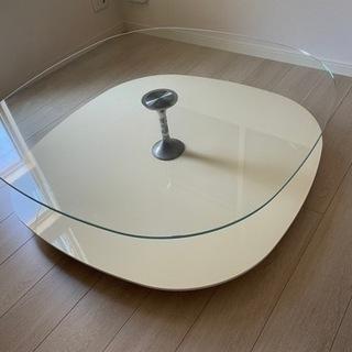 ガラステーブル ローテーブル(清掃・消毒済み)