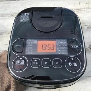 アイリスオーヤマ 3合炊き炊飯器 RC-MA30AZ-B …