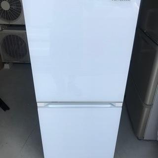 【直接引取送料無料】ハイセンス 2ドア冷蔵庫HR-G13B…