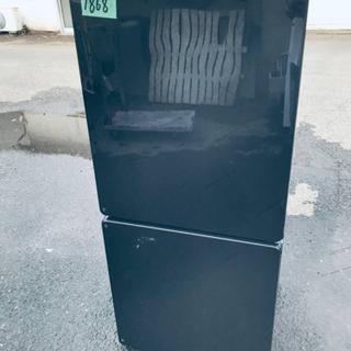 1868番 U-ING✨ノンフロン冷凍冷蔵庫✨UR-F110E‼️