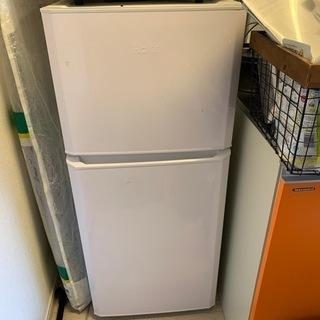 2017年ハイアール JR‐N121A‐W 冷蔵庫 4年程…