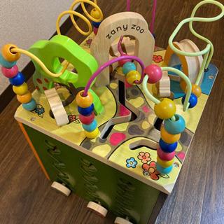 B.toys Zany Zoo アクティビティキューブ 知育玩具...