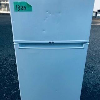 ⑤✨2018年製✨1320番 Haier✨冷凍冷蔵庫✨JR-N8...