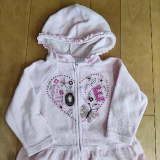 子供服 ピンク上着 80
