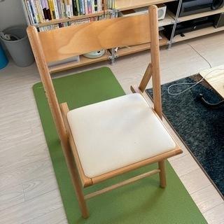 無印良品 ブナ材折り畳み椅子