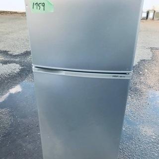 ①1759番 AQUA✨ノンフロン直冷式冷凍冷蔵庫✨AQR-11...