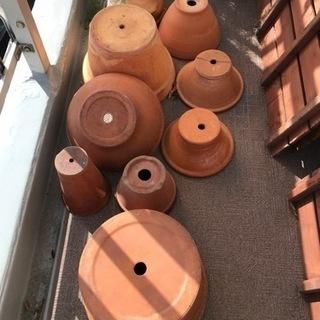 植木鉢 9個セット テラコッタ