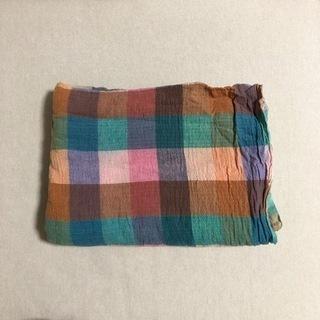 インド製 カラフル染め布