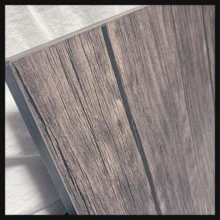 ꒰未使用꒱木製天板コの字型テーブル机ベッドサイドデスク飾り棚物置...