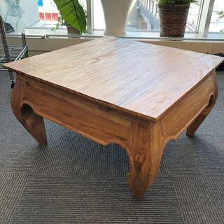 リビンング用 和製ローテーブル 座卓 (中古)※1台限り