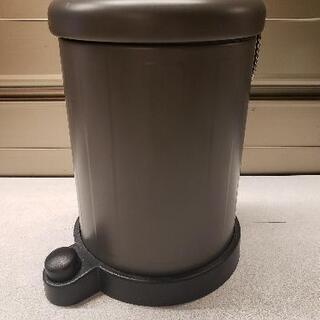 IKEA ペダル付ゴミ箱 グレー