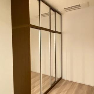 【ネット決済】ディノス 鏡洋服収納 壁面収納