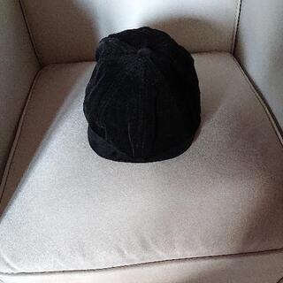 黒色ハット帽子