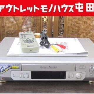 SONY ビデオデッキ VHS再生OK! リモコン付 SLV-R...