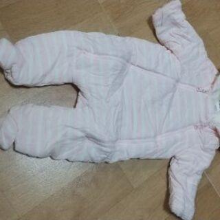 【ネット決済・配送可】BabyGap  中綿カバーオール 内側ボ...