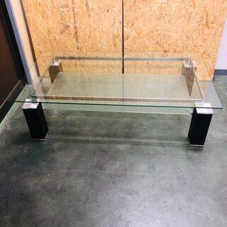 【早い者勝ち】 ガラステーブル センターテーブル ローテーブル