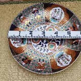 【ネット決済・配送可】60センチの飾皿