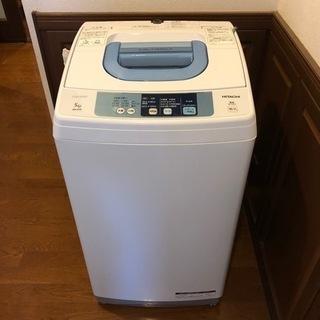 【運びます】HITACHI全自動洗濯機