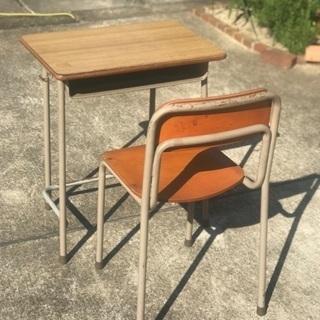 学校の机椅子 セット (取りに来て頂ける方)