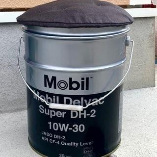 Mobilのオイルペール缶スツール(腰掛け)その②